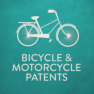 Bicycle & Motorcycle Patents Collection