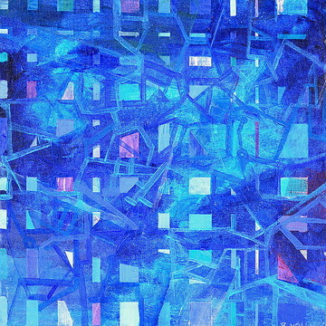 Blue abstracts Collection