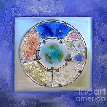 Blue Art Collection
