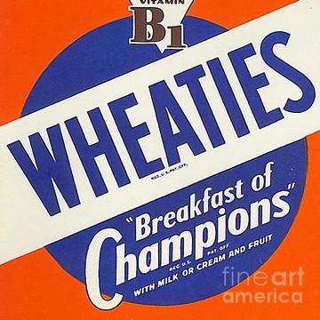Breakfast Cereal Pop Art Nostalgia Collection