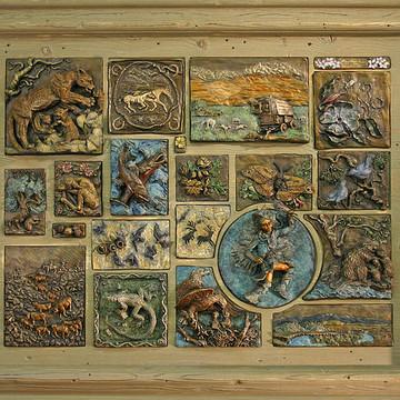 Bronze Reliefs Collection