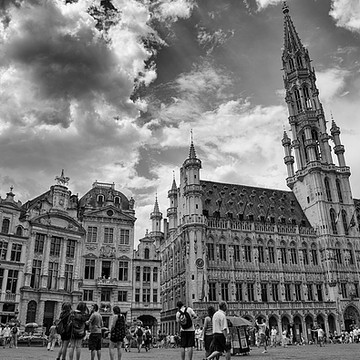 Brussels Belgium by GCF Photography