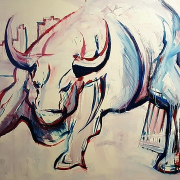 Bull Art Collection