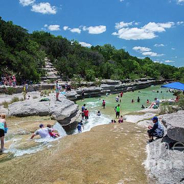 Bull Creek District Park Greenbelt Swimming Holes