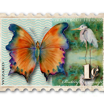 Butterfly Stamps Collection