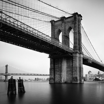 B&W Square Composition - New York Collection