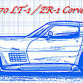 C3 Corvette Blueprint Series Collection