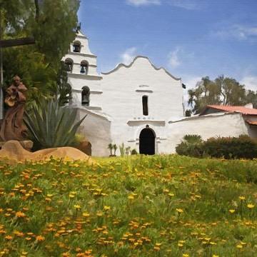 California Mission San Diego de Alcala Collection