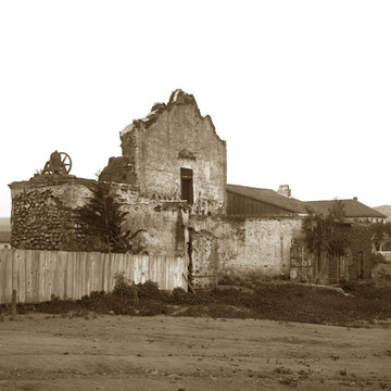 California Missions Early photos