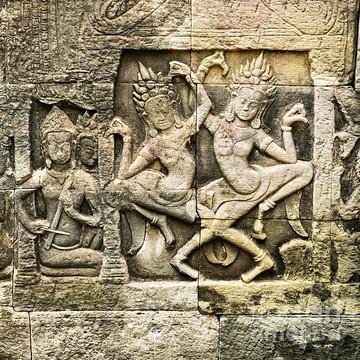 Cambodia - Bayon Bas-Reliefs Collection