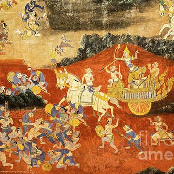Cambodia - Royal Palace Ramayana Collection