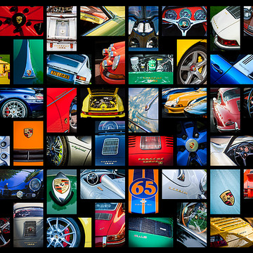 Car Art - Collages Collection