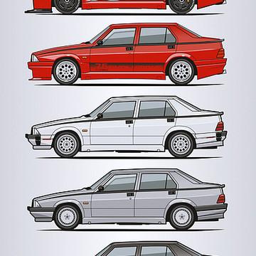 Car Art Collection