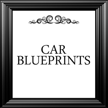 Car Blueprint Collection Collection
