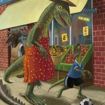 Cartoon Dinosaurs Collection