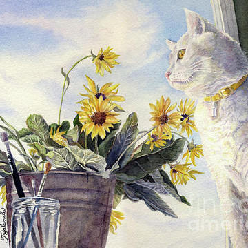 Cat - Dog and Bird Paintings Collection