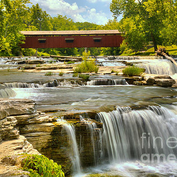 Cataract Falls State Recreation Area - Indiana Collection