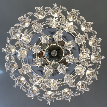 Chandeliers from the Castle Collection
