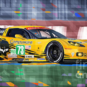 Chevrolet Corvette Art Collection