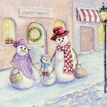Christmas Paintings Collection