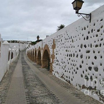 Cities villages houses ruins places in Canary Islands Collection