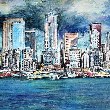 Cityscape Paintings Collection