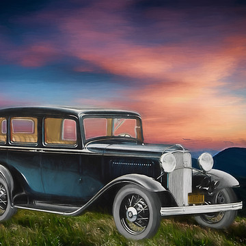 Classic and Vintage Cars and Trains and Planes Collection
