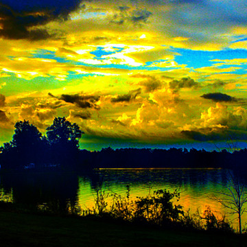 Clouds Over Water Collection