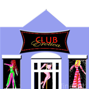 Club Erotica in Paint Markers Collection