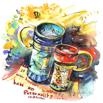 Coffee and Cafe Art Collection