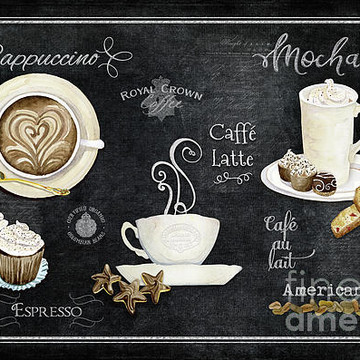 Coffee Themed Artwork Collection