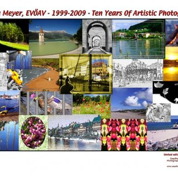 Collage- Sascha Meyer EVOEAV - 1999-2009 - Ten Years Of Artistic Photography