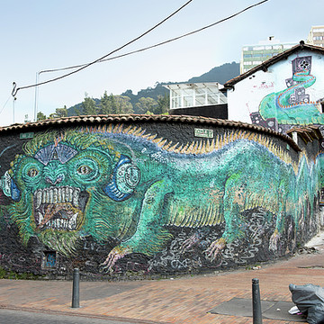 Colombia Bogota Street Scenes Collection