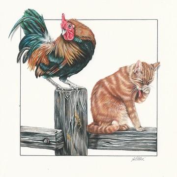 Color Pencil Artwork Collection