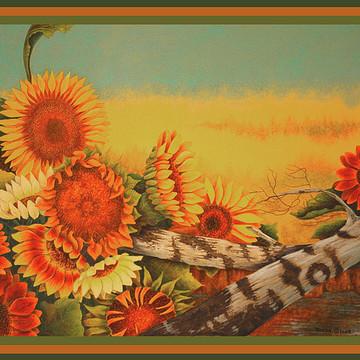 colored pencil-Autumn