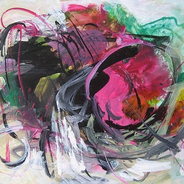 colorful abstract on Small Paper Collection