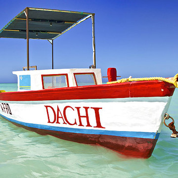 Colorful Fishing Boats of the Caribbean Collection