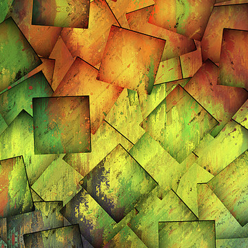 Contemporary Cubism Style Abstract Art Collection