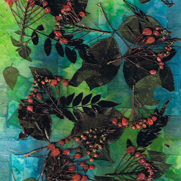 Contemporary Pressed Flower art Collection