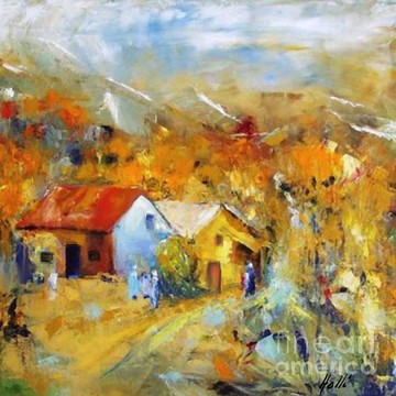 Countryside -mixed media Collection