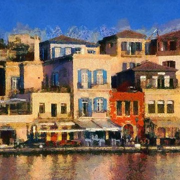 Crete island paintings Collection