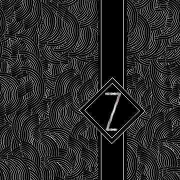 Deco Black Alphabet Collection