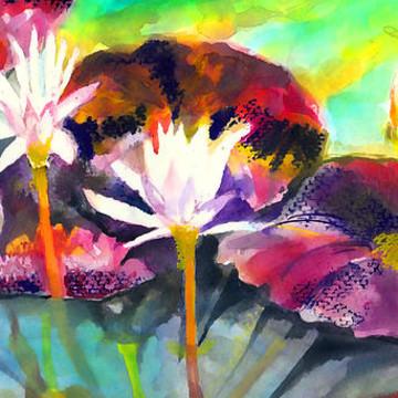 Derwent Inktense Watercolors Collection