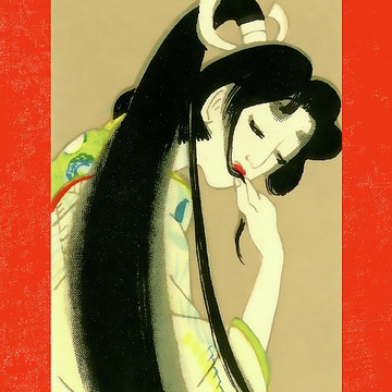 Designer Series Japanese Geisha Matchbox Labels Collection