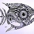 Detailed INK Fishes
