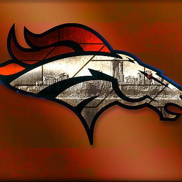Digital Art - Denver Broncos Collection