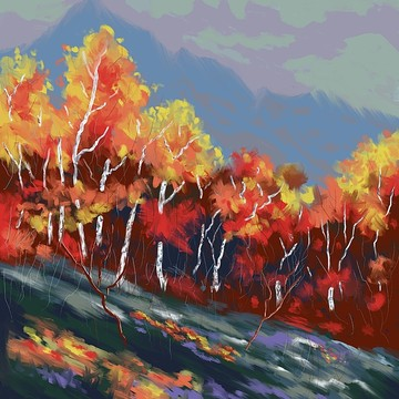 Digital Oil Paintings Collection