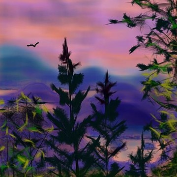Digital Painitngs  Landscapes  Animals and other ideas Collection