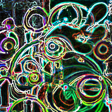 Digitally Altered Paintings Collection