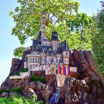 Disney Parks Scale Scenes Collection